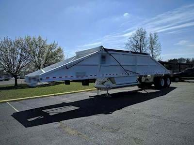 2007 Trailblazer Belly Dump Trailer - Air Ride Suspension, Quarter Frame, 22.5 Tires