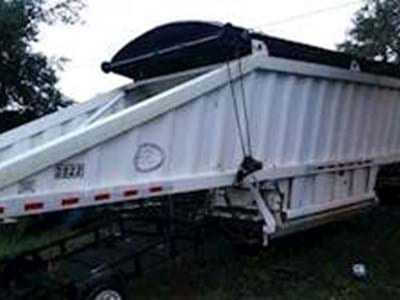 2007 CTS Bottom Dump Trailer, Closed Axle