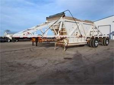 2006 Manac 42ft Bottom Dump Trailer