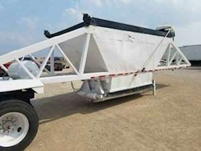 2006 Manac 40ft Bottom Dump Trailer - Spring Ride Suspension, 24.5 Tires
