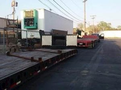 2006 Fontaine 48ft Double Drop Deck Trailer, 28' Well, Closed Axle, RGN