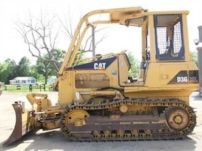 2002 Caterpillar D3G XL Dozer -  Hours 4,750, 6 Way VPAT Blade, 70 HP