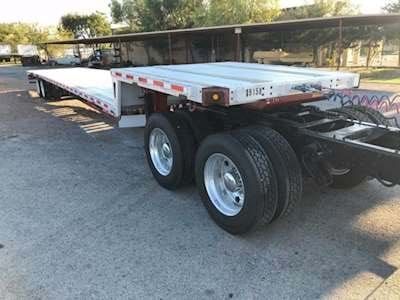 2008 Trail King 53x102 Drop Deck Trailer - Combo, Sliding Rear Axle, Cal Legal