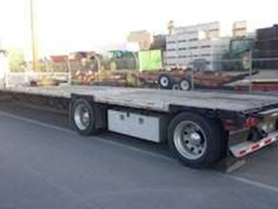 2000 Transcraft 48x102 Drop Deck Trailer, Combo, Spread Axle