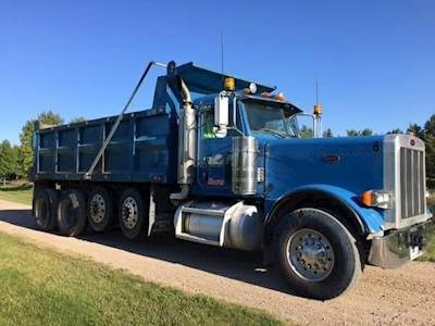 2006 Peterbilt Quad Axle Heavy Duty Dump Truck - Cummins ISX, 475HP