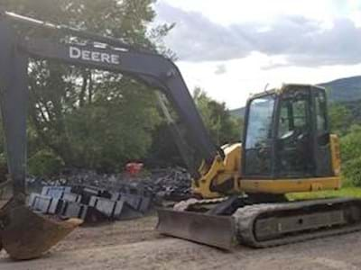 2008 John Deere 85D Excavator - 4,613 Hours, Enclosed Cab, A/C and Heat