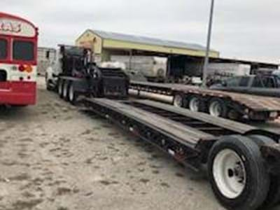1997 Fontaine 50 Ton Lowboy Trailer, Pony Motor, Hydraulic RGN, Tri Axle, Non-Ground Bearing