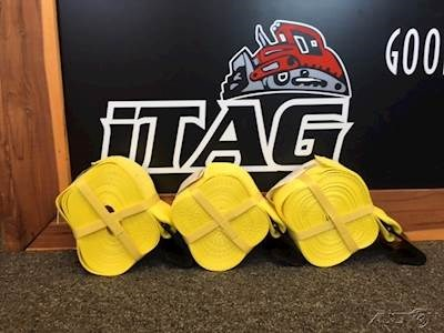 2018 ITAG 30x4 Winch Strap with Flat Hook