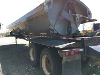 2012 CTS Side Dump Trailer - Air Ride Suspension, Electric Tarp