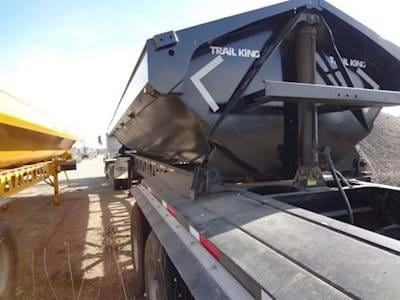 2007 Trail King Side Dump Trailer, Tri Axle