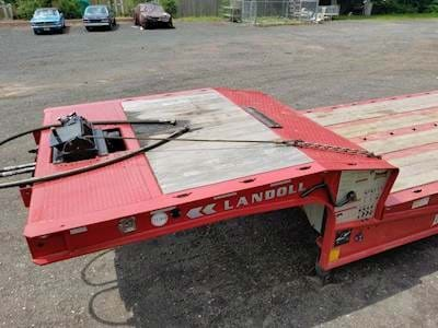 2016 Landoll 440A Traveling Axle Trailer - Wood Floor, 40 Ton, Traveling Axle